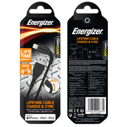 Picture of Energizer Lightning Cable - Black