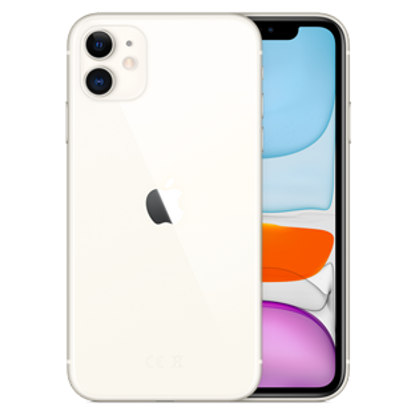 Picture of Apple iPhone 11 128GB White (MWM22B)